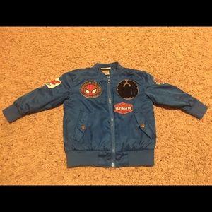 Other - Toddler boys spiderman jacket